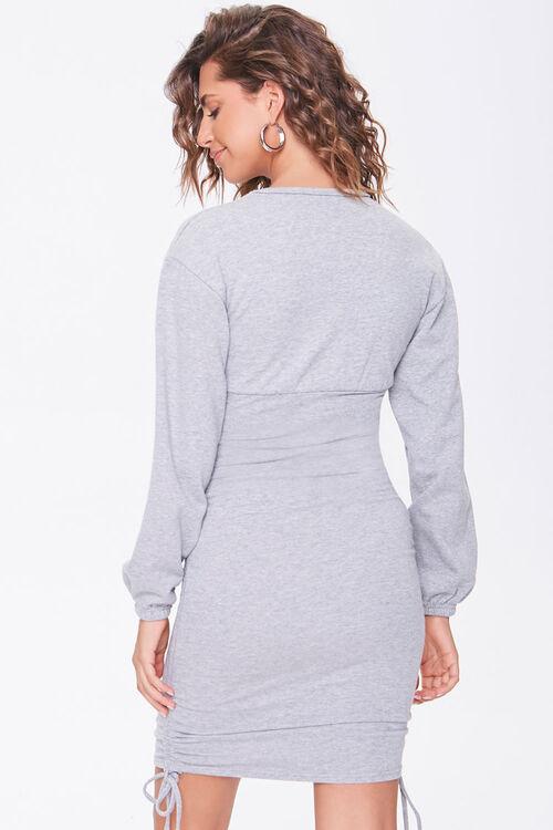 Ruched Mini Dress, image 3