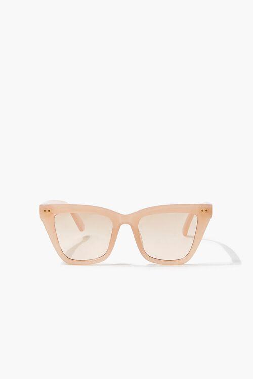 Semi-Translucent Square Sunglasses, image 1