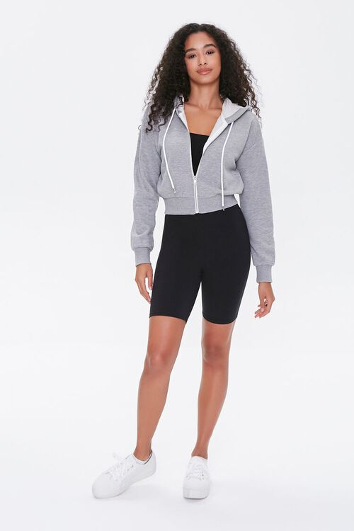 French Terry Zip-Up Hoodie, image 4