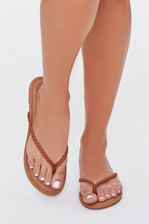 Braided Flat Sandals, image 4
