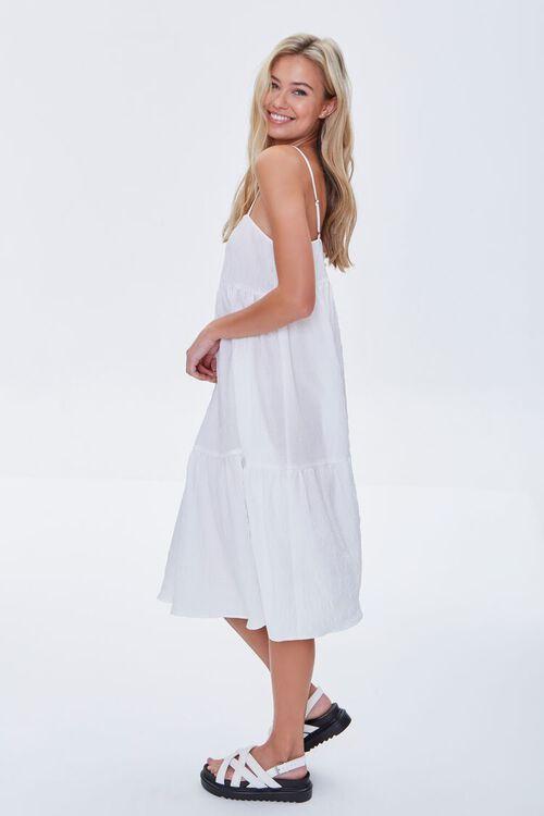 Textured Flounce Cami Dress, image 3