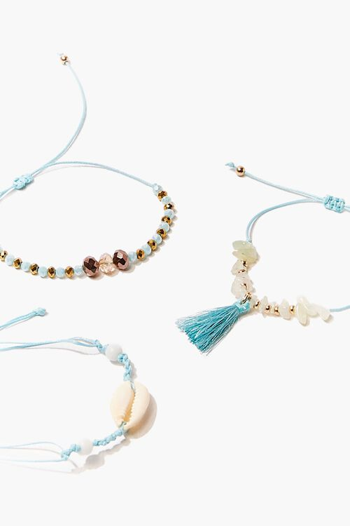 Beaded Anklet Set, image 1