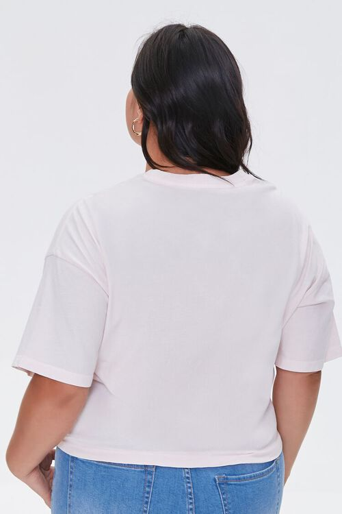 Plus Size Be Kind Cropped Graphic Tee, image 3