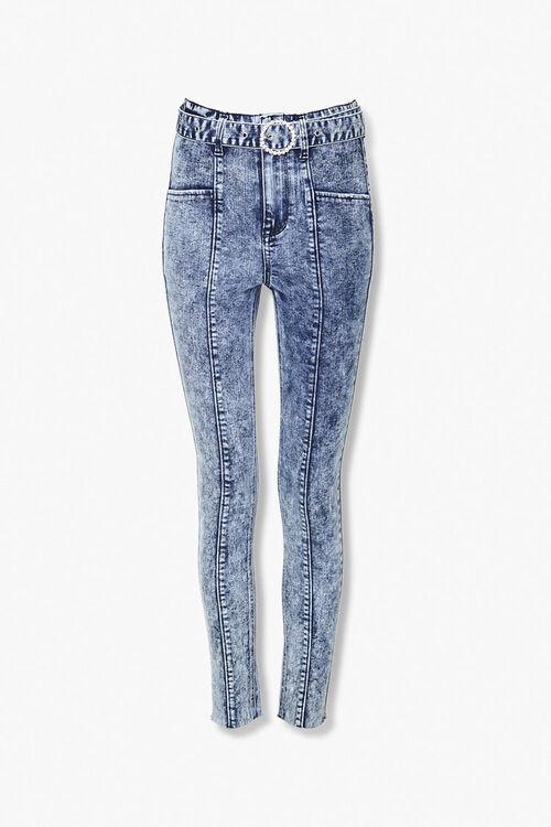 Acid Wash Skinny Jeans, image 1