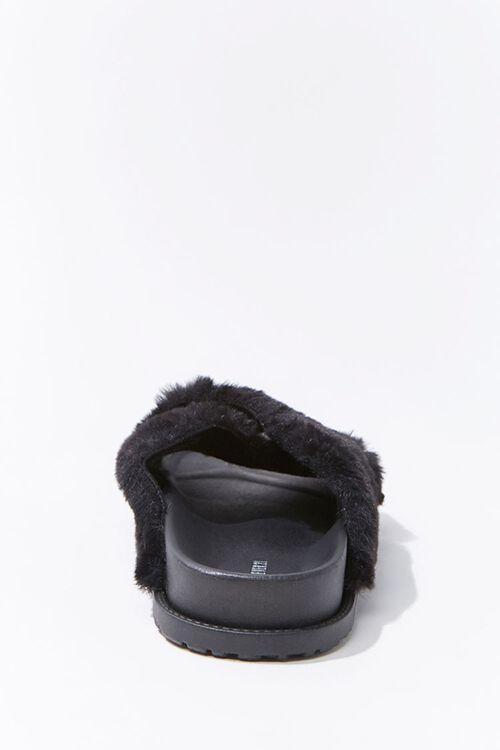 Plush Crisscross Slippers, image 2