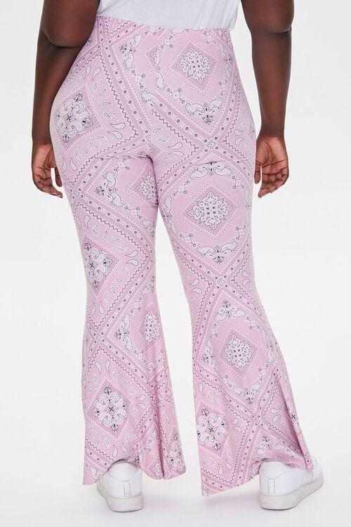 Plus Size Harper Paisley Print Pants, image 4