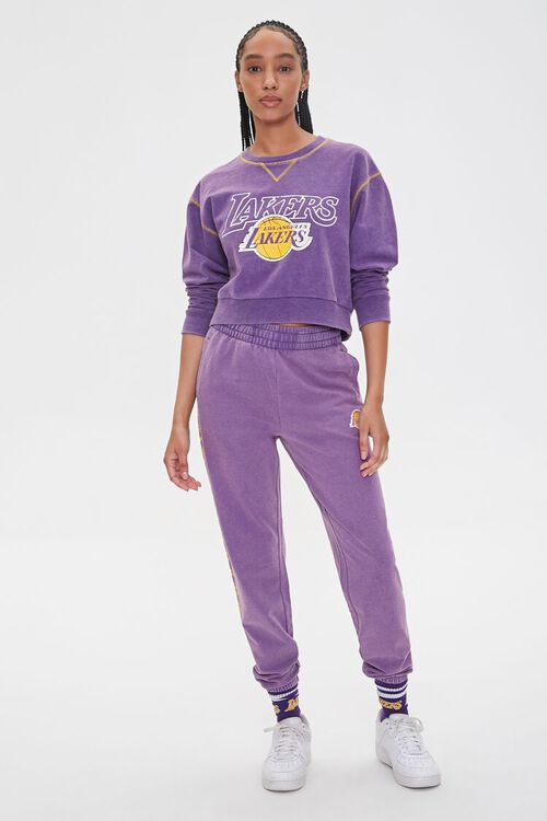Los Angeles Lakers Fleece Pullover, image 4