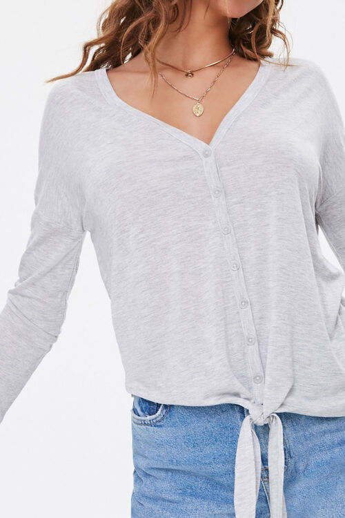 Button-Down Self-Tie Top, image 5