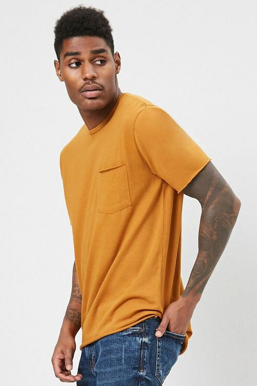 Rolled-Trim Knit Tee, image 2