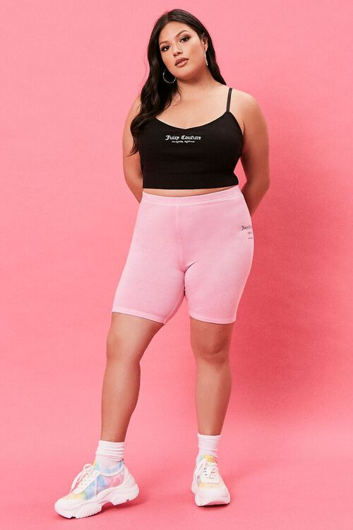 Plus Size Juicy Couture Biker Shorts, image 5