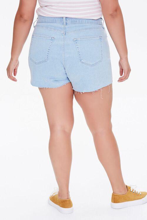 Plus Size Retro High-Rise Shorts, image 4