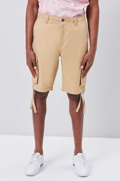 Strap-Hem Cargo Shorts, image 2