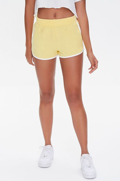 French Terry Ringer Shorts, image 2