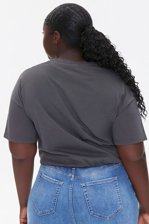 Plus Size Stay Magical Cropped Tee, image 3