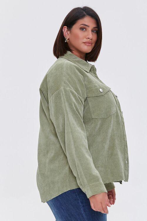 Plus Size Corduroy Jacket, image 2