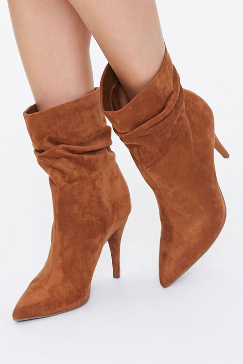 Slouchy Stiletto Booties, image 1