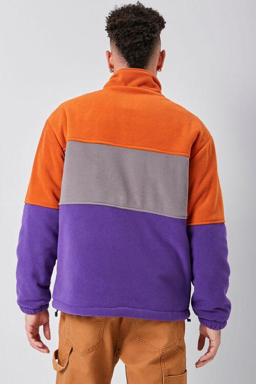 Fleece Colorblock Jacket, image 3