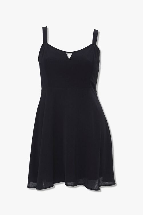 Plus Size Cutout Mini Dress, image 5