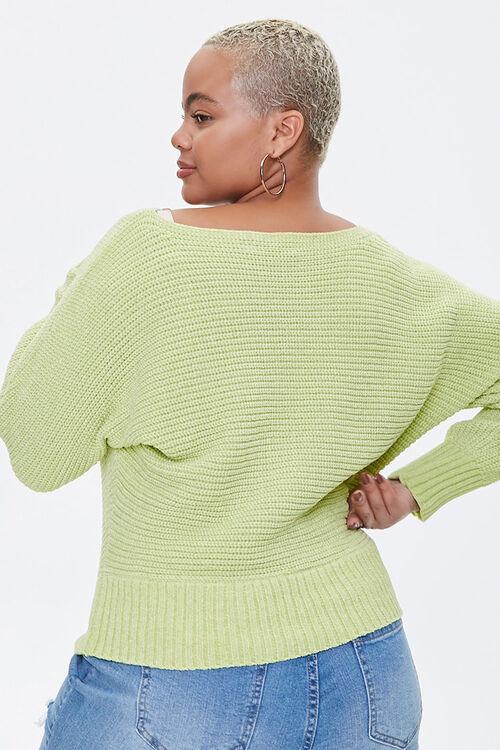 Plus Size Chenille Sweater, image 3