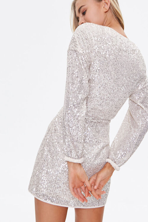 Glittered Wrap Dress, image 3