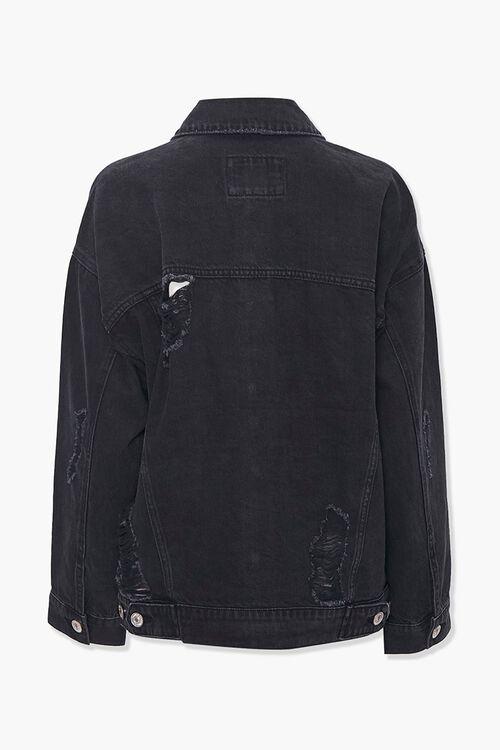 Distressed Boyfriend Denim Jacket, image 3