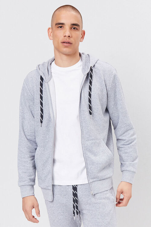French Terry Zip-Up Hoodie, image 2