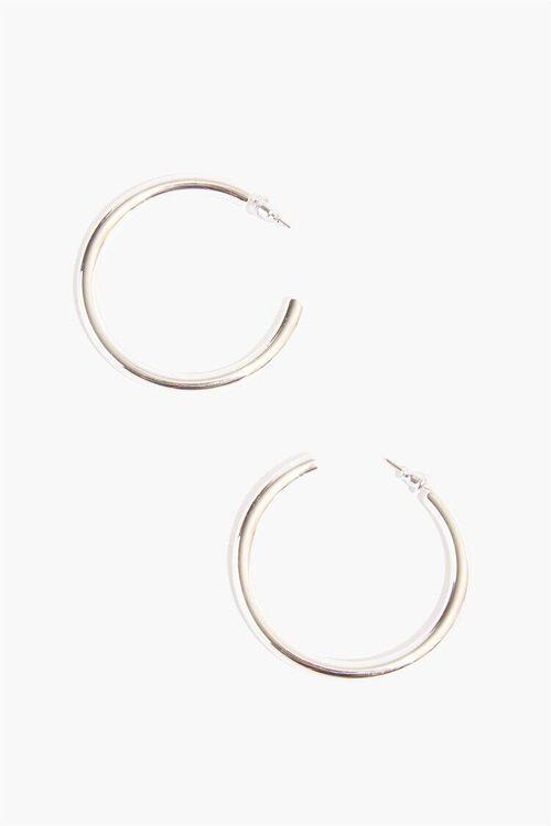 Tube Hoop Earrings, image 1