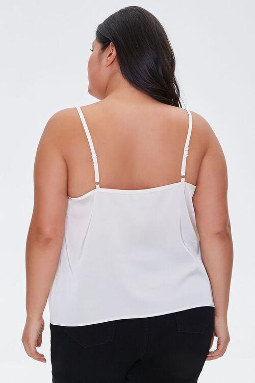 Plus Size Lace-Trim Cami, image 3