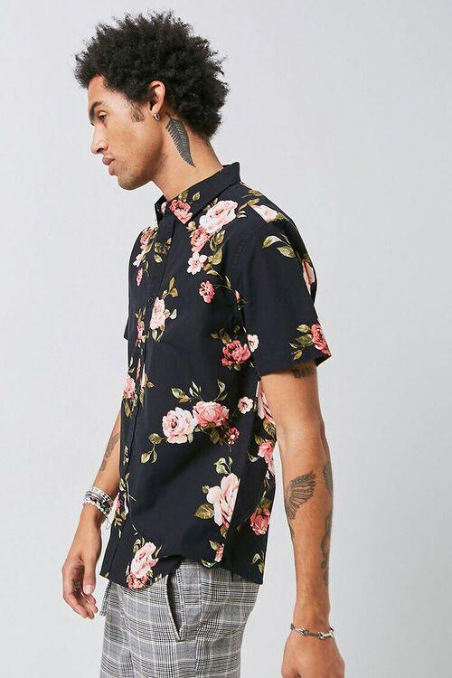 Classic Fit Floral Print Shirt, image 2