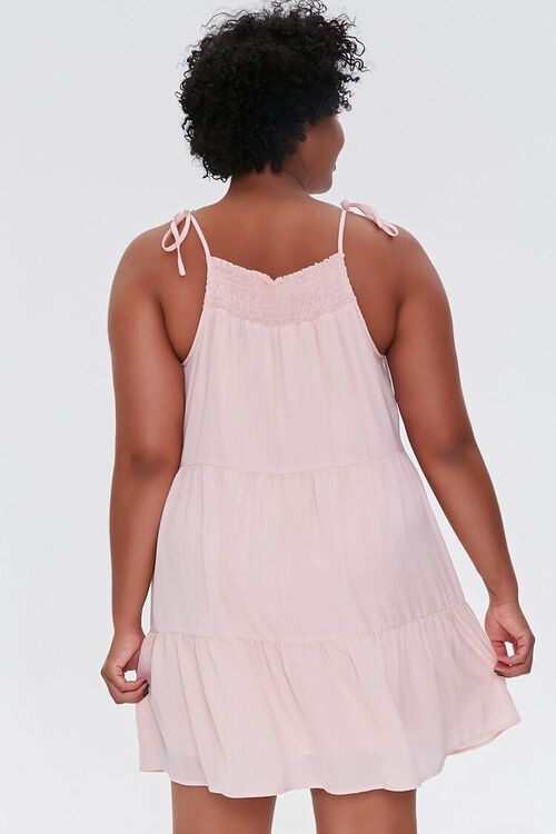 Plus Size Trapeze Mini Dress, image 3