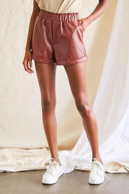 CHOCOLATE Coated Cuffed Shorts, image 2