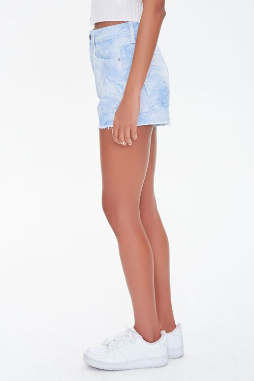 Tie-Dye Wash Twill Shorts, image 3
