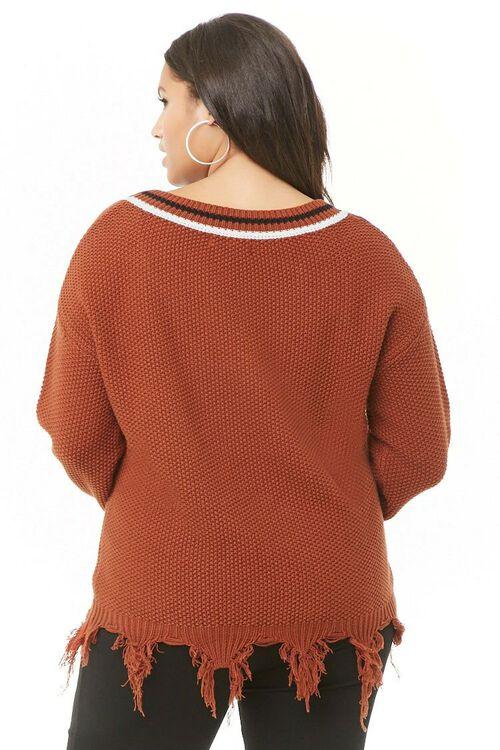 Plus Size Striped Sweater, image 3