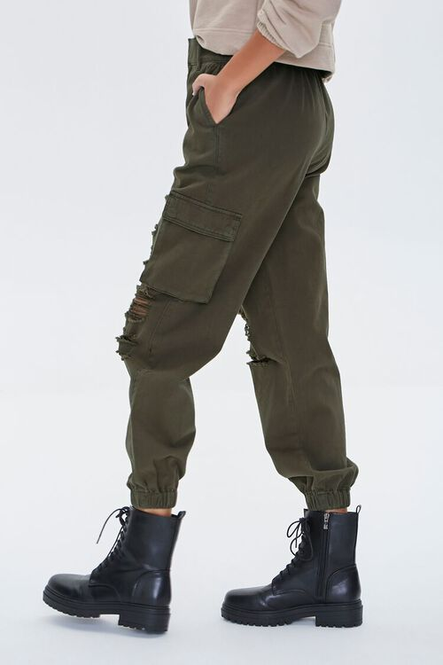 Distressed Cargo Joggers, image 3