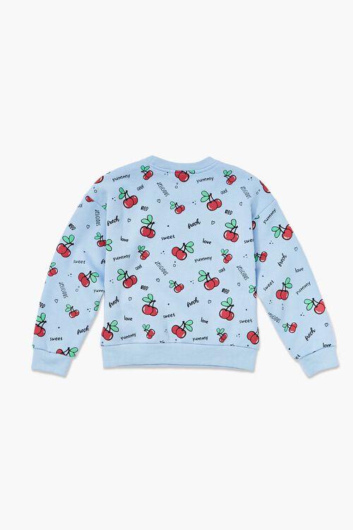 Girls Cherry Print Pullover (Kids), image 2