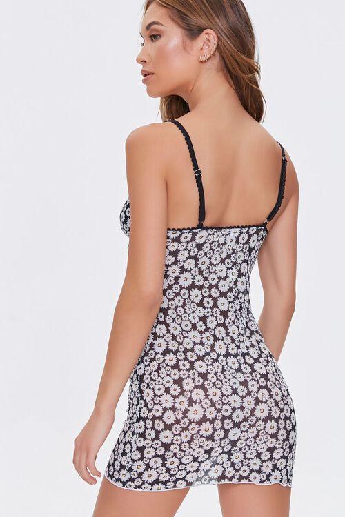 Daisy Print Slip Nightdress, image 3