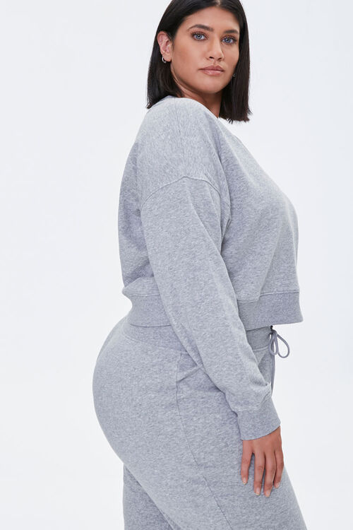 Plus Size French Terry Top, image 2