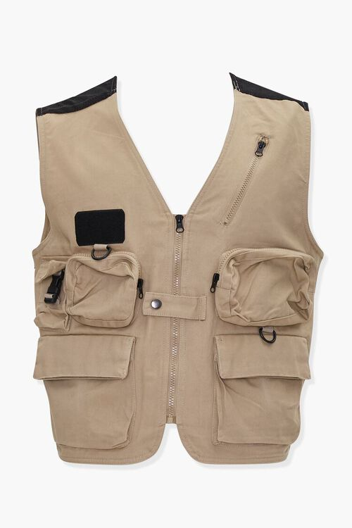 Zip-Up Utility Vest, image 1