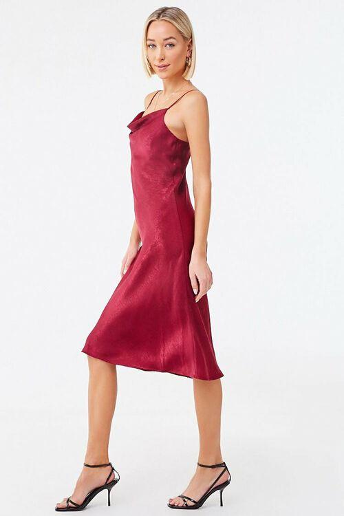 Cowl Neck Slip Dress, image 2