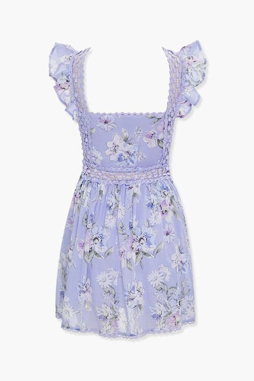 Floral Fit & Flare Dress, image 3