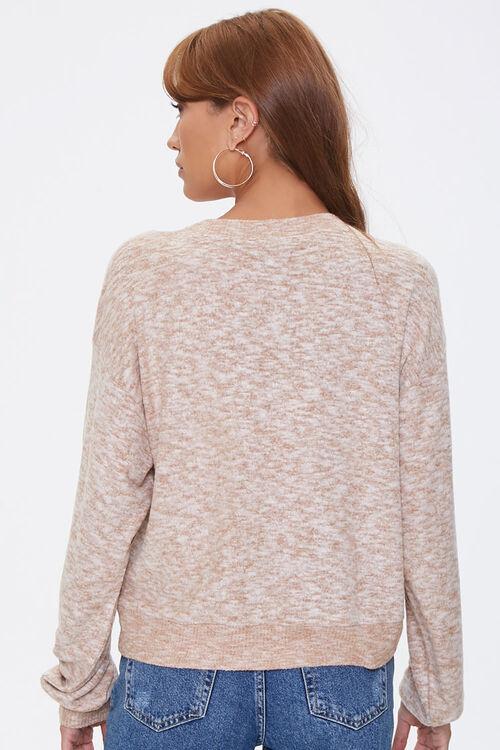 Marled Drop-Sleeve Sweater, image 3