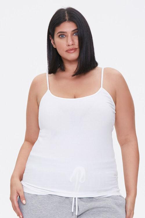 Plus Size Scoop Neck Cami, image 1