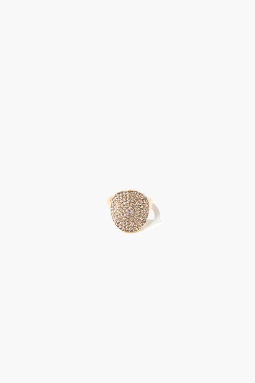 Round Rhinestone Ring, image 1
