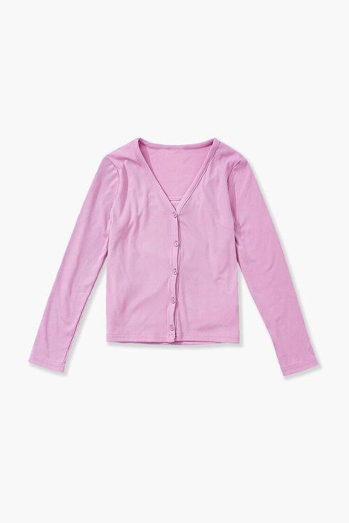 PINK Girls Cami & Cardigan Sweater Set (Kids), image 2