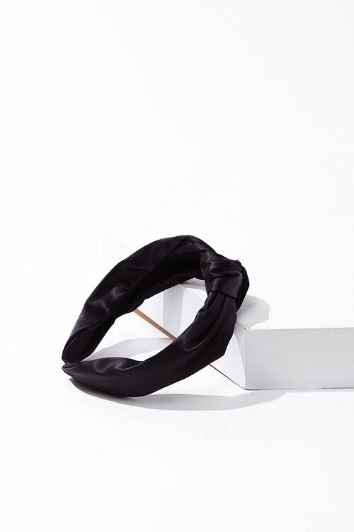 Knotted Satin Headband, image 3