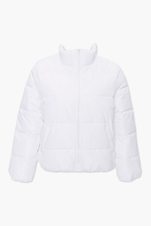 Plus Size Puffer Jacket, image 1