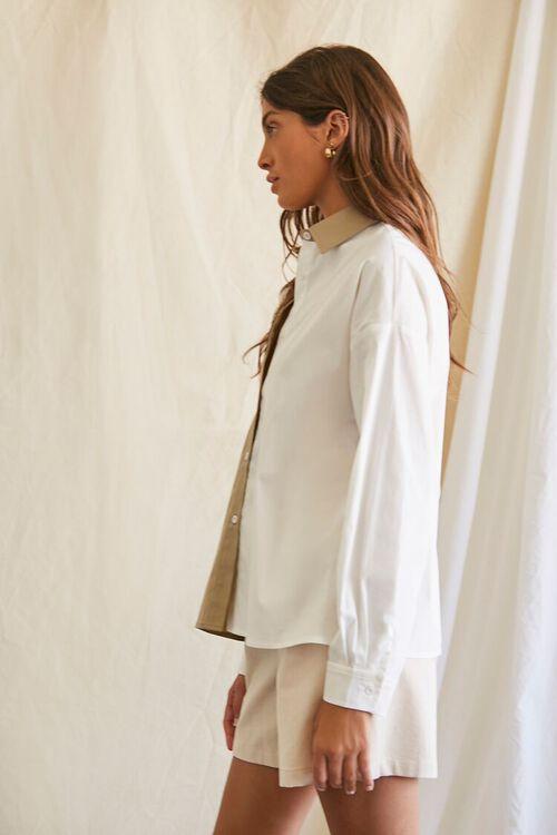 Colorblock Button-Up Shirt, image 2