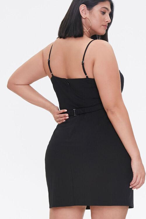 Plus Size Bow Mini Dress, image 3