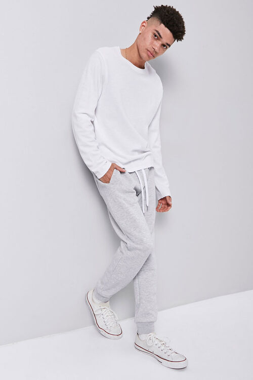 Fleece Drawstring Joggers, image 5