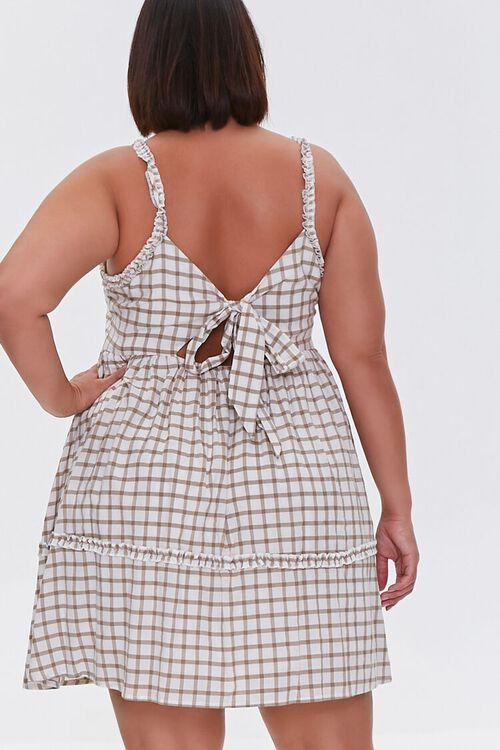Plaid Tie-Back Dress, image 3